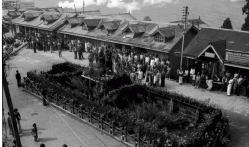 Gandhi Jayanti Celebration AT Gangtok Bazar 1977