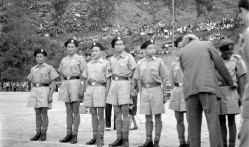 Mohinder Singh ( Policer Officer) inspecting the Police uniform