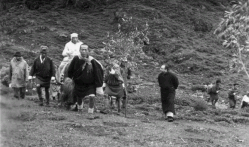Pandit Jawaharlal Nehru Enjoining a Yak Ride During His Tour to Bhutan ,N.K Rustomje 17th to 30th.sept.1958